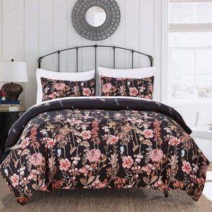New Floral Queen Duvet Set